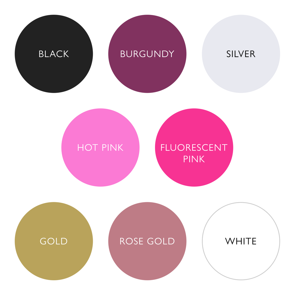 Font colours for Personalised Base Layers