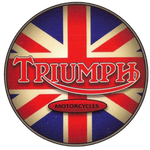 Sticker TRIUMPH MOTORCYCLES
