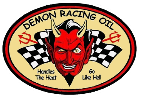 Sticker DEMON RACING OIL