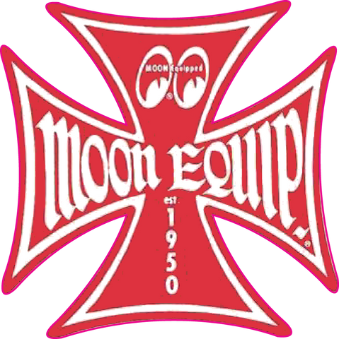 Sticker MOON EQUIP (Rouge)