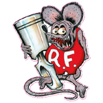 Sticker Rat Fink