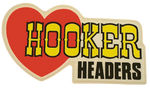 Sticker HOOKER HEADERS