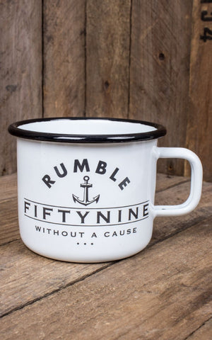 Mug en émail -Rumble59 - Black as your Soul