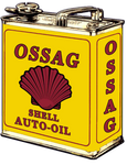 Sticker SHELL AUTO-OIL