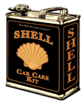 Sticker SHELL Car Care Kit