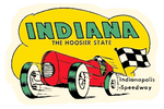 Sticker INDIANA