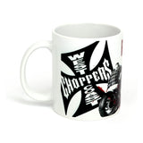 Mug West Coast Choppers Ride Hard Sucker