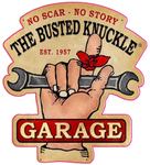 Sticker THE BUSTED KNUCKLE