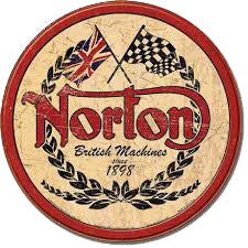 Sticker NORTON RETRO