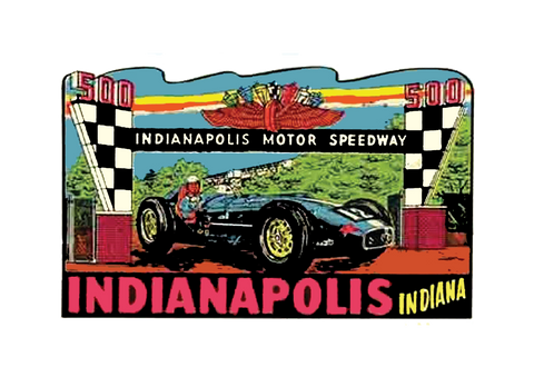 Sticker INDIANAPOLIS