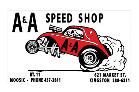 Sticker A&A SPEED SHOP