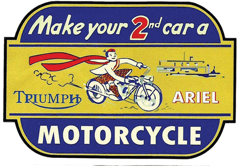 Sticker TRIUMPH ARIEL