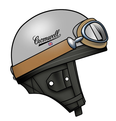 Sticker Casque CROMWELL