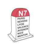 Sticker Nationale 7
