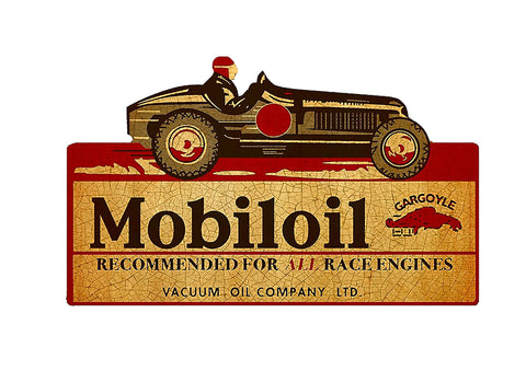 Sticker Mobiloil