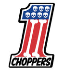 Sticker Number 1 choppers