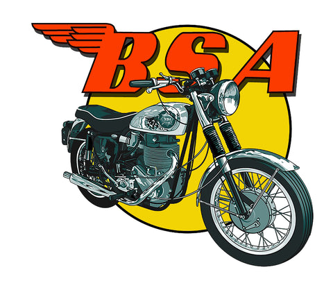 Sticker BSA