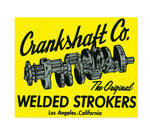 Sticker CRANKSHAFT CO