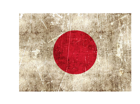 Sticker Drapeau JAPON