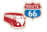Sticker COMBI-ROUTE 66