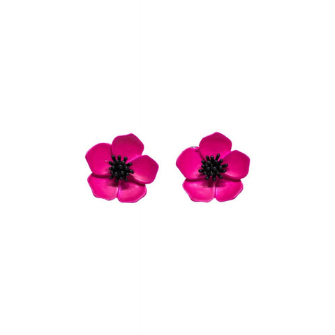 Boucles d'oreilles PETUNIA FLOWER , Rockabilly , Pin-Up , Vintage