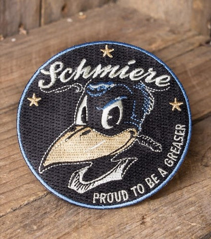 Patch Schmiere - PROUD TO BE A GREASER Rumble59