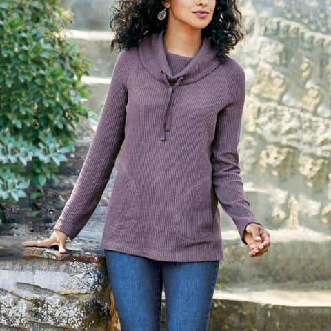 Women's Commuting Drawstring Pure Color Long Sleeve Hooded Sweater