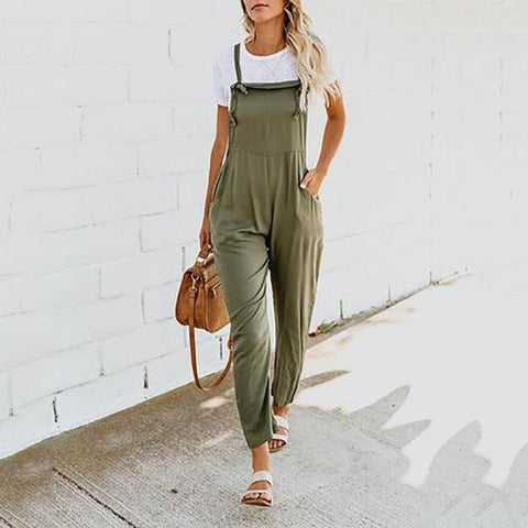 Pocket Loose Street Jumpsuit