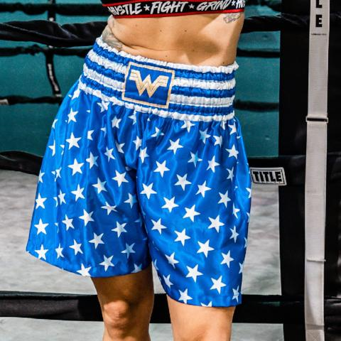 WONDER WOMAN FIGHT SHORTS