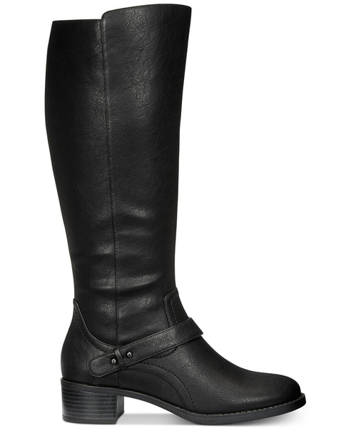 Easy Street Jewel Riding Boots, Black, Size: 6.5M MSRP: $90.00