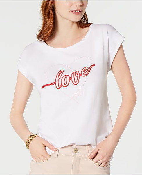 Tommy Hilfiger Cotton Love Graphic T-Shirt S