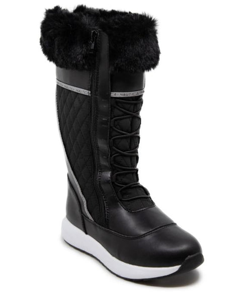 Nautica Everly Cold Weather Boots  Black 6H