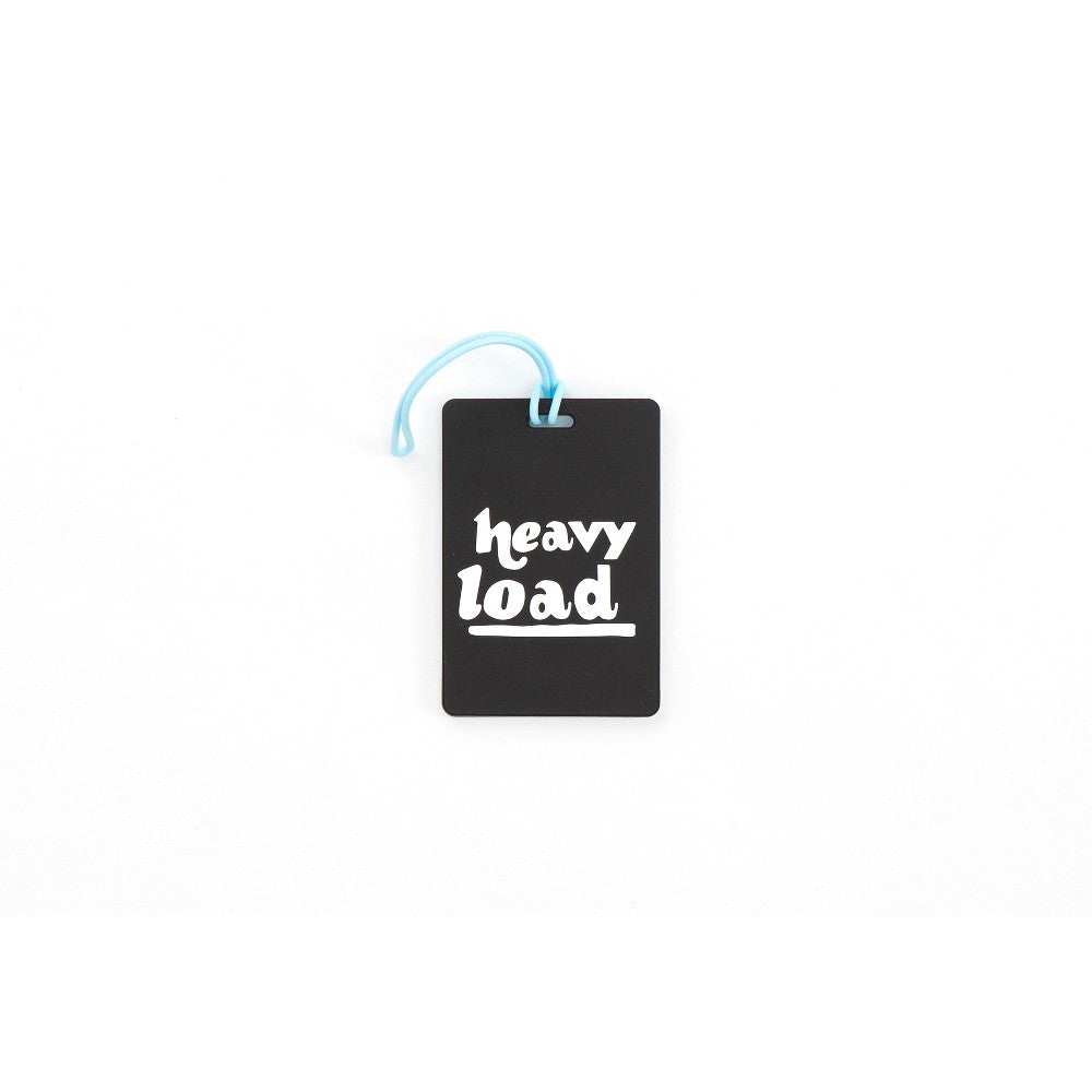 Path Luggage Tag - Heavy Load, Black/Blue/White