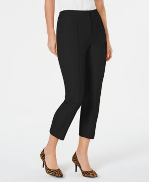 Alfani Crochet-Trim Ankle Pants