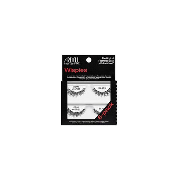 Ardell Eyelash Demi Wispies Black - 6pc