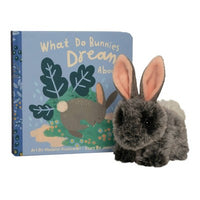 The Manhattan Toy Company Mini Stuffed Animal and Board Book Gift Set