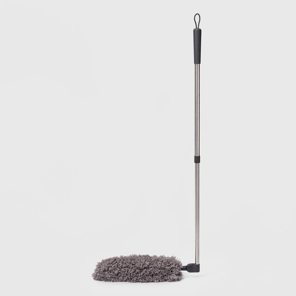 "Swivel-Head Dust Wand with Telescoping Pole - 55"" - Made By Design"