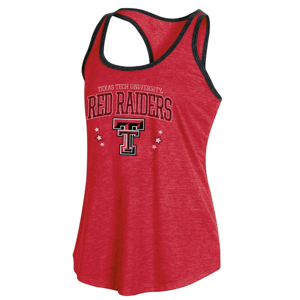 NCAA Texas Tech Red Raiders Women's Racerback Tank Top - XL, Multicolored