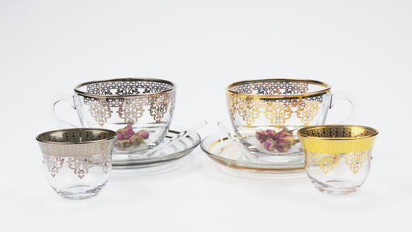 Swarovski Crystal Embellished Tea Cup
