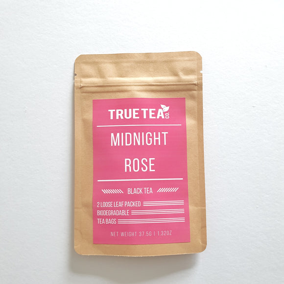 Midnight Rose Loose Leaf Tea Bags