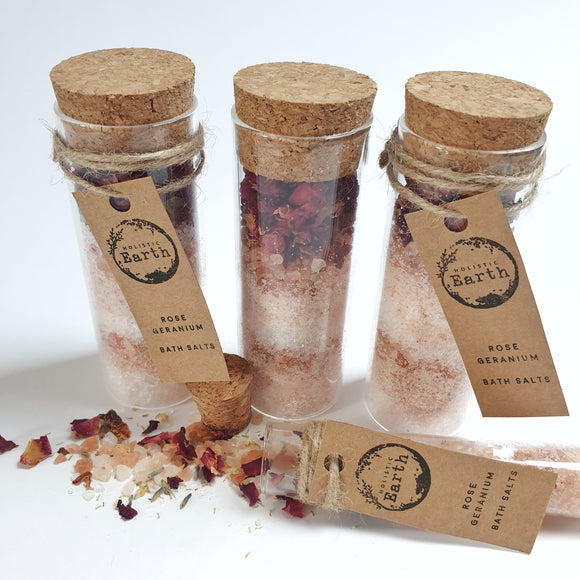 Large Luxury Bath Salt Shots