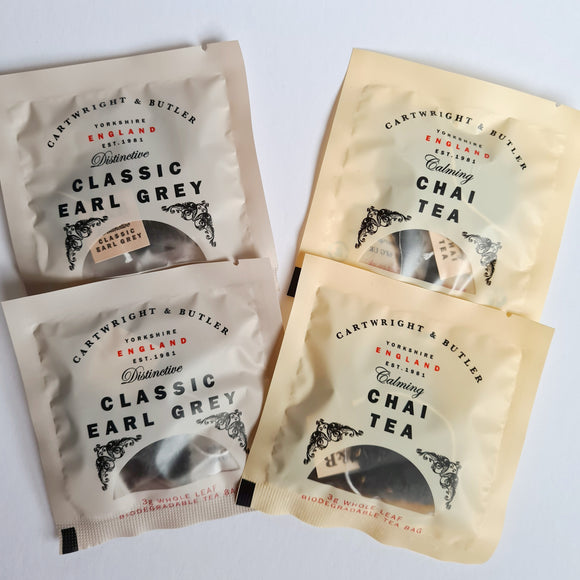 Individual Loose Leaf Tea Bags