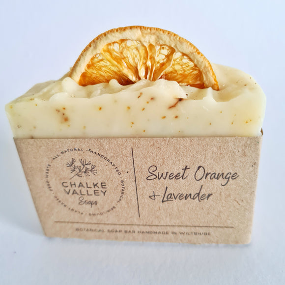 Sweet Orange & Lavender Soap