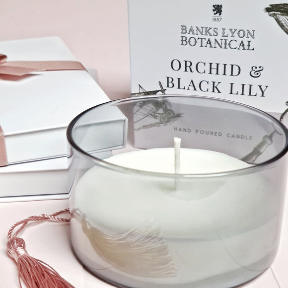 Orchid & Black Lily Candle