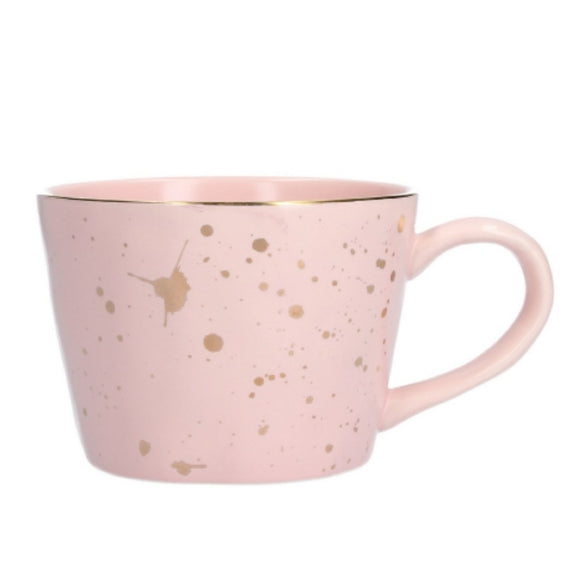 Artisan Gold Splash Mug