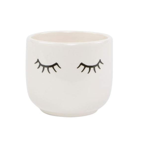 Lashes Mini Planter