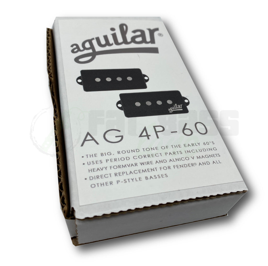 View of Packaging of Aguilar AG 4P-60 60's Era Pickup for Bass Guitar