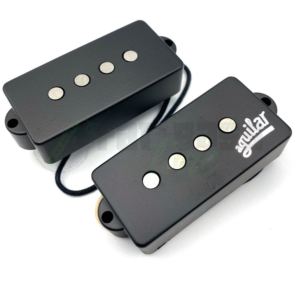 View of Top of Aguilar AG 4P-60 60's Era Pickup for Bass Guitar