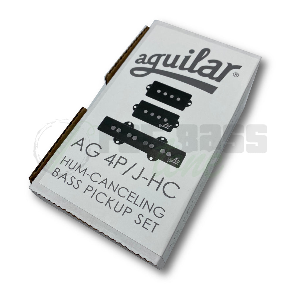 View of Packaging Aguilar AG 4P/J-HC 4 String Hum Cancelling Bass Pickups