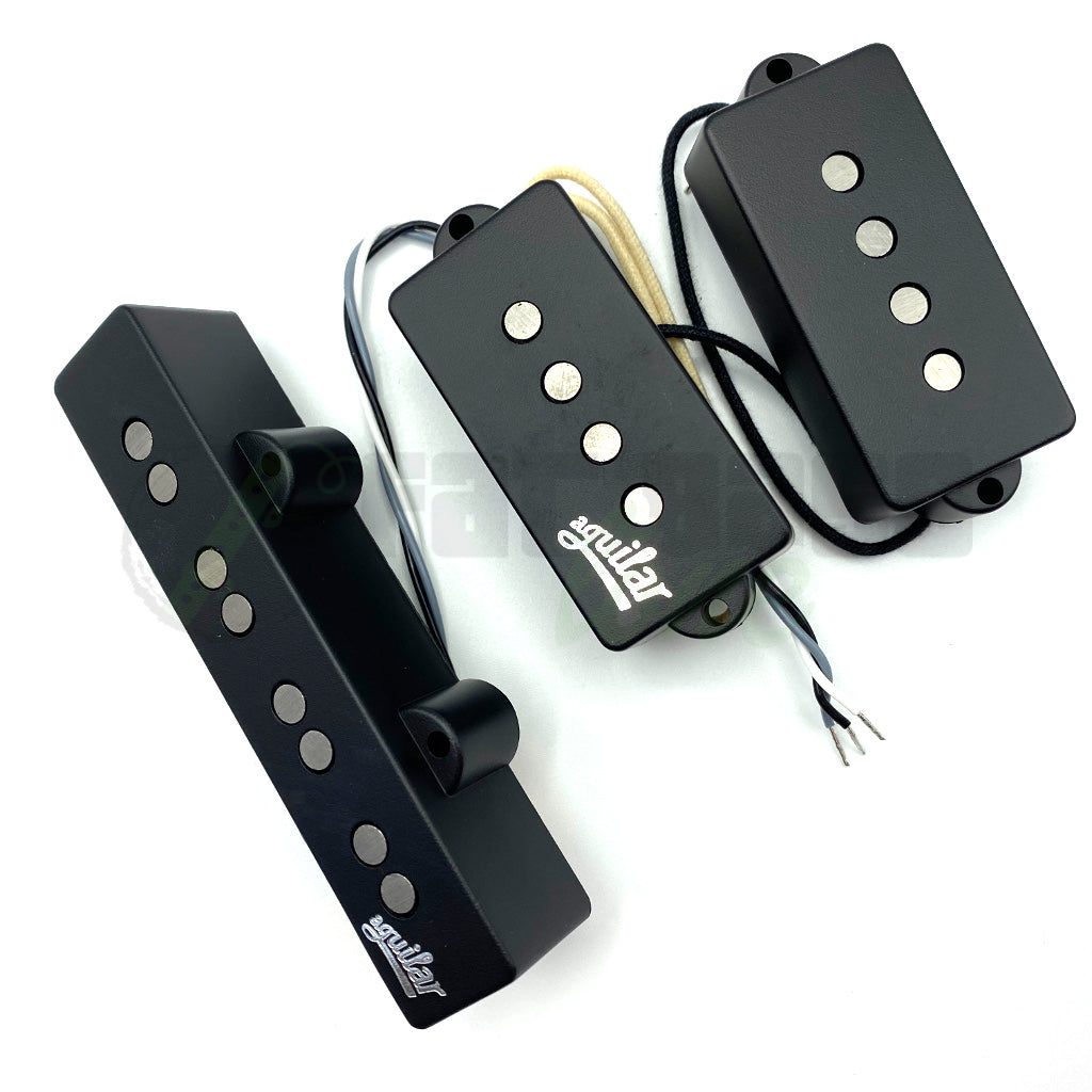 Top view of Aguilar AG 4P/J-HC 4 String Hum Cancelling Bass Pickups